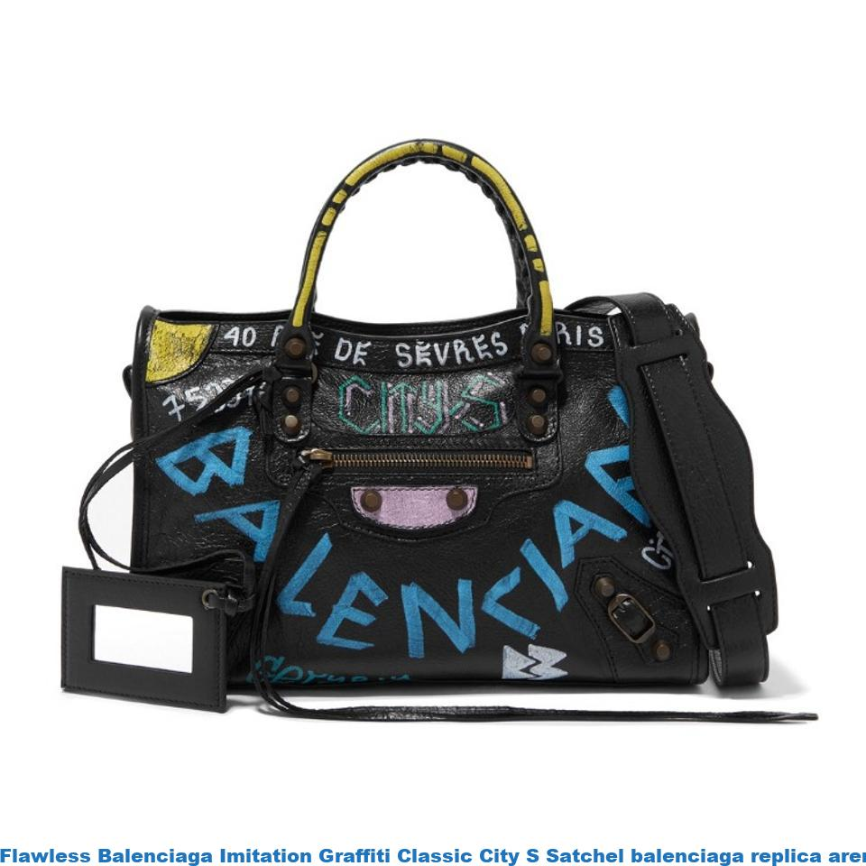 Flawless Balenciaga Imitation Graffiti Classic City S Satchel balenciaga  replica arena sneakers for sale 388bb424ae66c