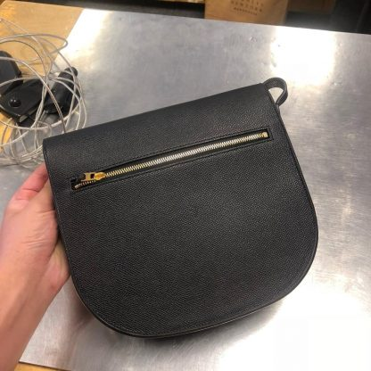 503c3c03903 Outlet Céline AAA Replica Trotteur Grainy Small Black Leather Cross Body  Bag celine replica bag price