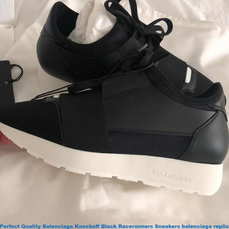 469d79e4760 Perfect Quality Balenciaga Knockoff Black Racerunners Sneakers balenciaga  replica motorcycle bag