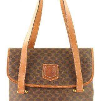 d3e8d1d16d21 You re viewing  The Best Céline Mirror Macadam Brown Coated Canvas Shoulder  Bag celine replica £85.72
